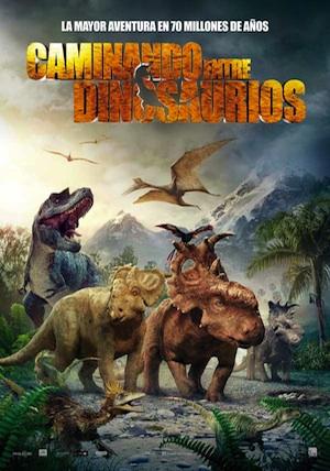 cartel-caminando-entre-dinosaurios
